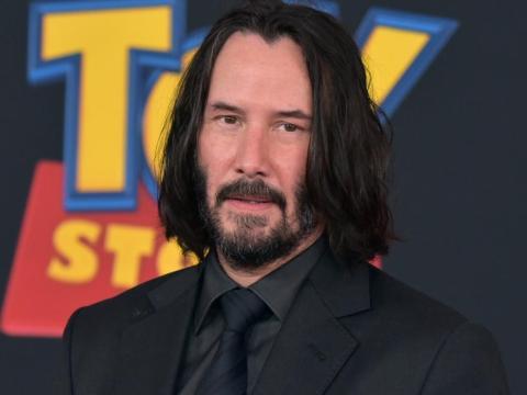 """Keanu Reeves interpretó a un temerario juguete llamado Duke Caboom en """"Toy Story 4""""."""