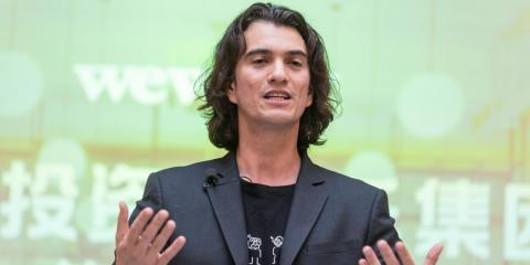 Adam Neumann, CEO of The We Company.