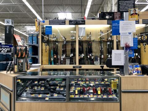 After a few minutes, a Walmart manager arrived at the gun-sales counter. She said I could not buy a gun that day because no authorized firearm sellers were scheduled to work.