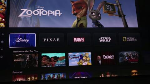 "All in all, Disney Plus should be familiar to anyone who uses Netflix; it even has similar row categories, like ""Recommended For You,"" based off you viewing habits. The best part though: Anything on Disney Plus can be downloaded"