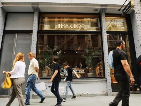 Una tienda Jimmy Choo.