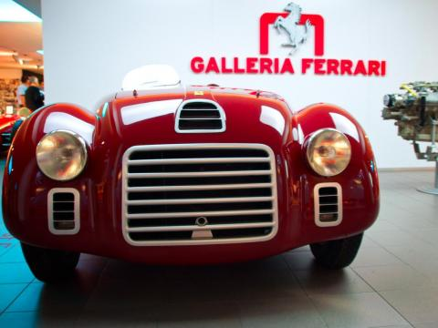 Although WWII forced Ferrari to curtail his racing activities, his company got back to work immediately following the war. In 1945, the company introduced a new V12 engine that would become one of Ferrari's signature offerings.