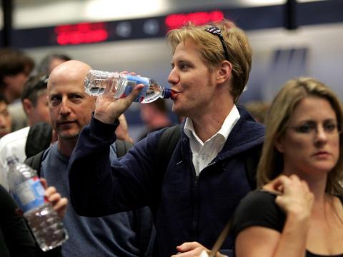 Always bring a water bottle