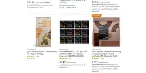 Amazon modificó los algoritmos de búsqueda en su plataforma para favorecer sus productos