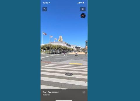 Aplicación Apple Maps de iPhone en iOS 13