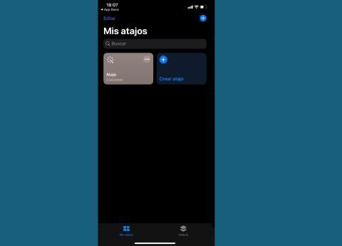Aplicación Atajos de iPhone en iOS 13