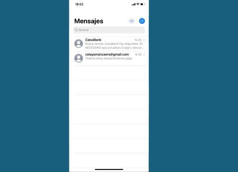 Aplicación Mensajes de iPhone en iOS 13