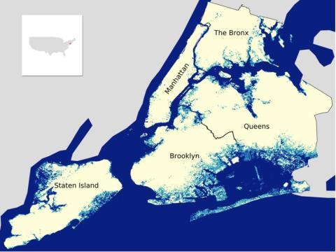 Áreas como Brooklyn y Queens podrían verse afectadas de forma importante.