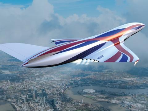 El avión espacial es parte de un proyecto conjunto entre las agencias espaciales de Australia y el Reino Unido.