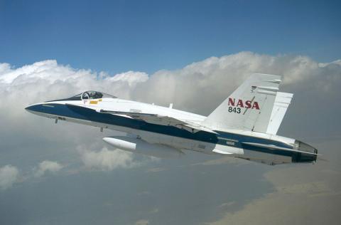 Avión de la NASA