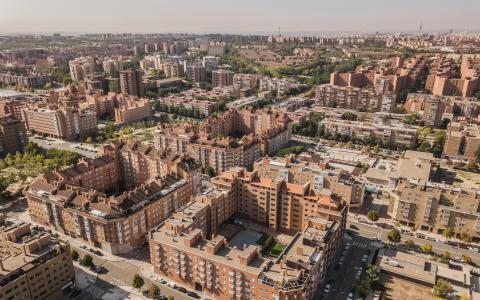 Barrio de viviendas