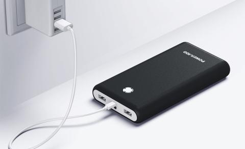 Batería externa Poweradd con carga rápida