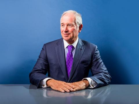 El CEO de Blackstone. Stephen Schwarzman.