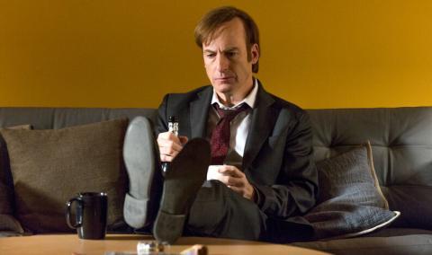Bob Odenkirk como Saul Goodman en Better Call Saul (2015)