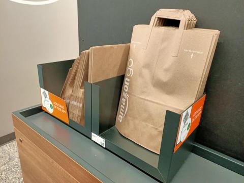 Bolsas Amazon Go