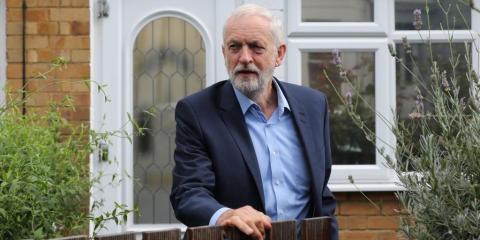 Boris Johnson podría perder el cargo en favor de Jeremy Corbyn.