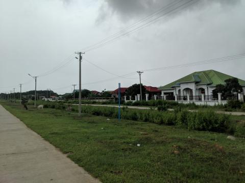 Hay zonas residenciales donde viven principalmente trabajadores del gobierno.