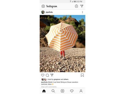 Cómo es Instagram sin el número de likes