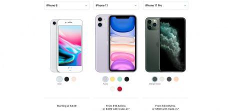 El iPhone más barato que puedes comprar ahora es el iPhone 8 a partir de 400 euros.