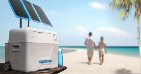 Chill GoSun: nevera portátil con paneles solares