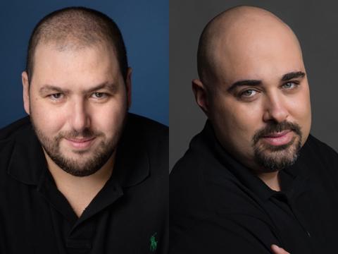 Los confudadores del Grupo NSO Shalev Hulio y Omri Lavie.