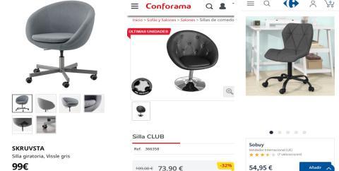 Cómo amueblar tu habitación por 600 euros: silla