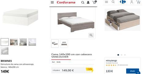 Cómo amueblar tu habitación por 600 euros: camas