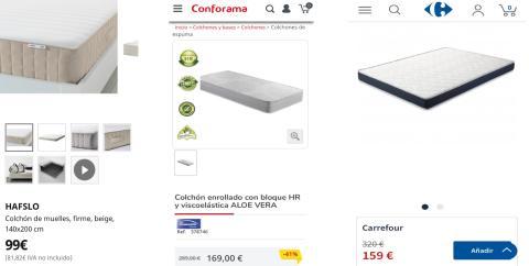 Cómo amueblar tu habitación por 600 euros: colchones