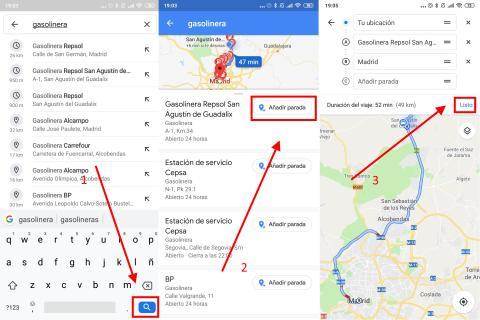 Cómo añadir una parada intermedia en Google Maps