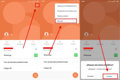 Cómo bloquear un número de teléfono en Android para que no te pueda llamar nunca más