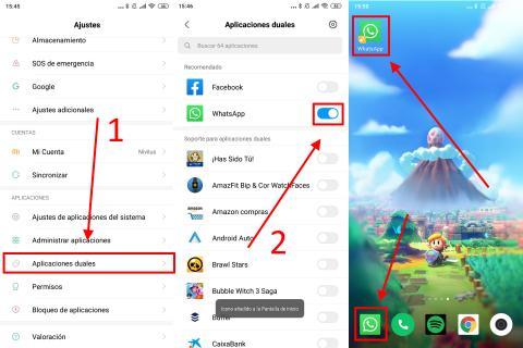 Cómo configurar dos cuentas de WhatsApp en un mismo teléfono a través de la configuración del teléfono
