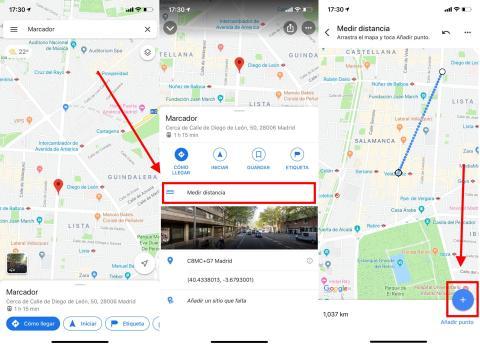 Cómo medir la distancia entre dos puntos con Google Maps en tu Android o iOS