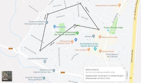 Cómo medir la distancia entre dos puntos con Google Maps en tu ordenador