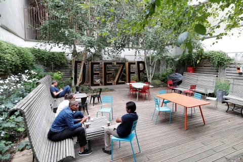 La sede de Deezer