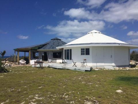 Viviendas de Deltec en las Bahamas.