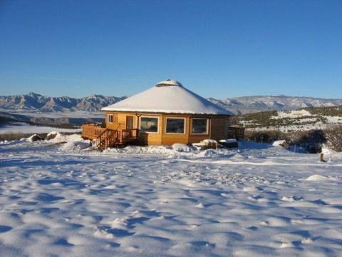 Una casa de Deltec en Mesa, Colorado.
