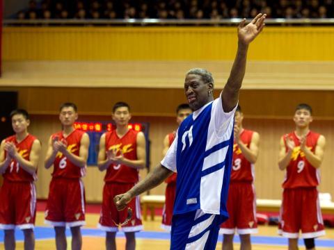 Dennis Rodman jugó para los Detroit Pistons, San Antonio Spurs, Chicago Bulls, Los Angeles Lakers y Dallas Mavericks durante su tiempo en la NBA