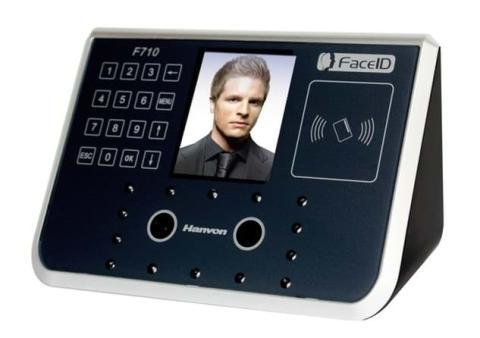 Dispositivo de reconocimiento facial de la empresa Hanvon que utiliza el instituto Enric Borràs.