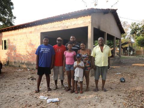 Familia de la Amazonía.