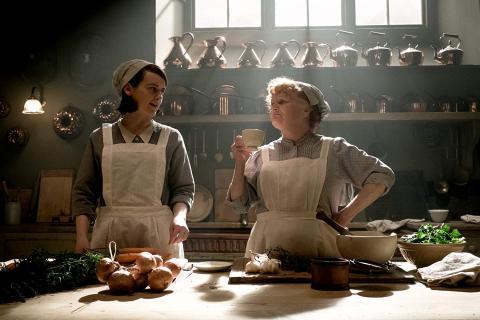 Criadas en la exitosa serie Downton Abbey