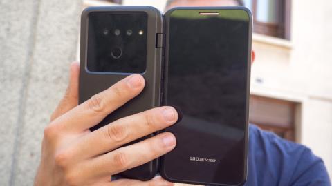 Dual Screen del LG V50