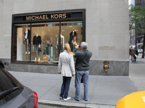 Una tienda Michael Kors en Nueva York.
