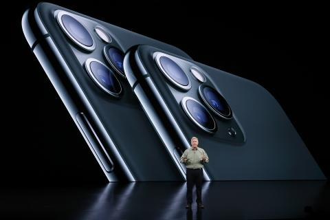 Evento de presentación de los nuevos iPhone 11.