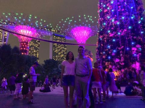 En Singapur tuve una experiencia de Couchsurfing mejor de lo que habría podido imaginar.