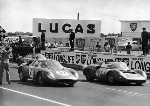 Ferrari ruled Le Mans at the time. Enzo and his team had dominated the grueling 24 hour-long endurance sports-car race — winning six times in a row from 1960-1965.