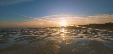 Fotografía playa con LG V50 ThinQ