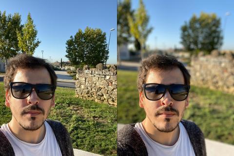 Fotos del Iphone 11 en modo foto y en modo retrato
