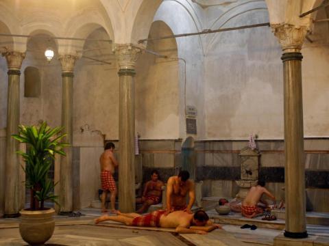 Cagaloglu Hamami, un baño turco de Estambul muy parecido a Aga Hamami