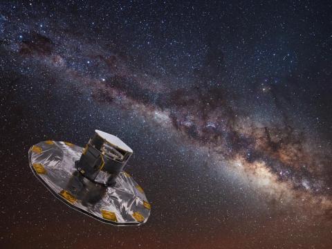 La nave espacial Gaia traza mapas de las estrellas de la Vía Láctea.