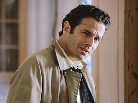 "Luke Kirby plays comedian Lenny Bruce on ""The Marvelous Mrs. Maisel."""